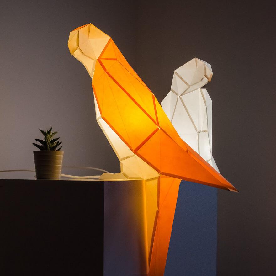 origami animal lamps 10 (1)