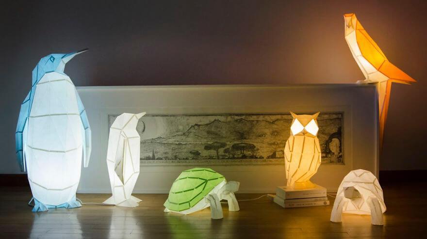 origami paper lamps 13 (1)