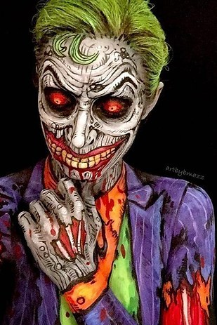 cool halloween makeup 10