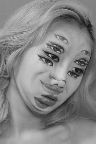 gross halloween makeup 13
