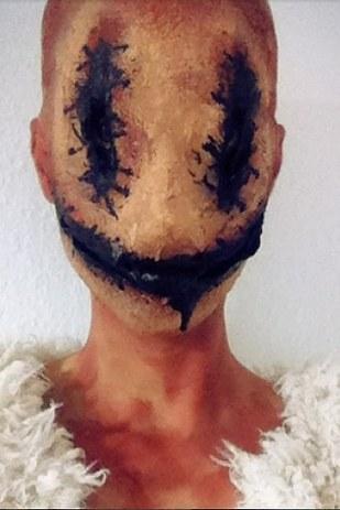 scary halloween makeup 2
