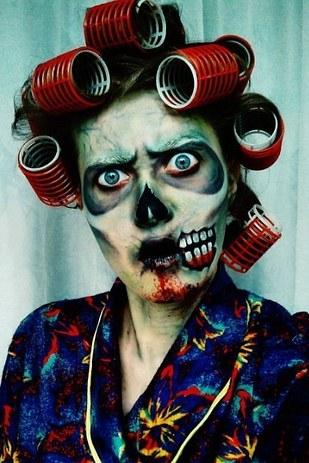 creepy halloween makeup 20