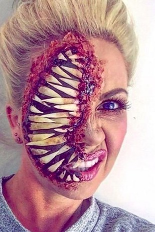 creepy halloween makeup 42 creepy halloween makeup 21