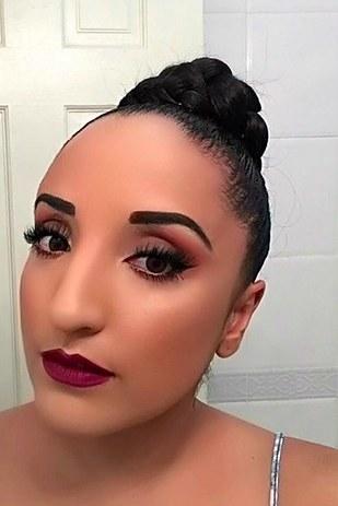gross halloween makeup 33