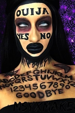 scary halloween makeup 7