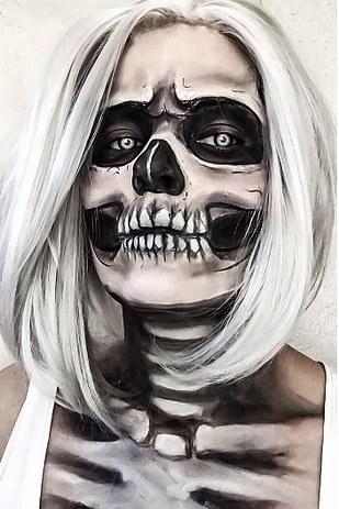 scary halloween makeup 8