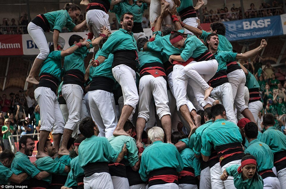 the highest human tower 27 (1)