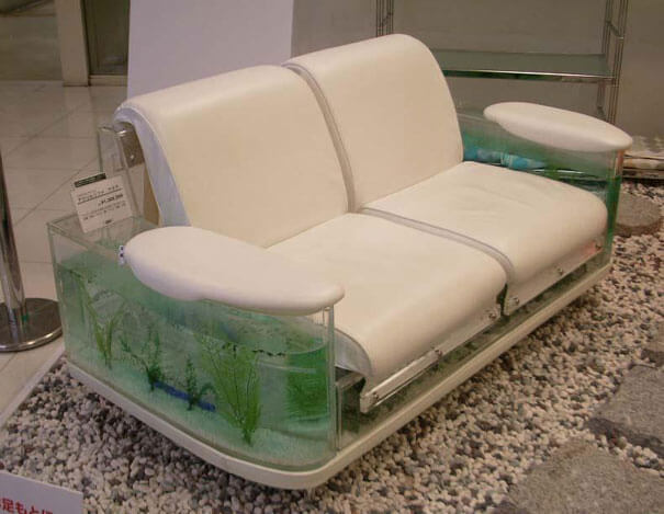 14 Another Furniture Item An Aquarium Shaped Like A Sofa