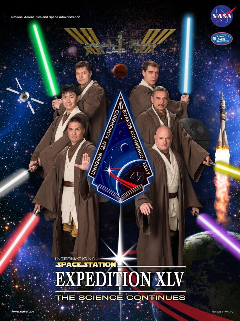 ISS Expedition Astronauts movie parody posters 10 (1)