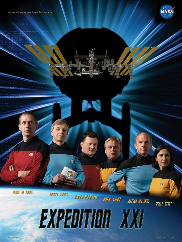 ISS Expedition Astronauts movie parody posters 2 (1)
