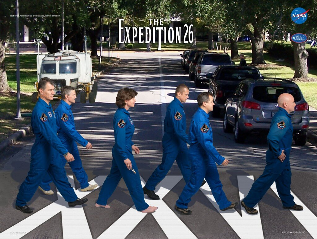 ISS Expedition Astronauts movie parody posters 4 (1)