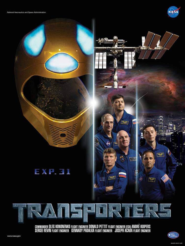 ISS Expedition Astronauts movie parody posters 6 (1)