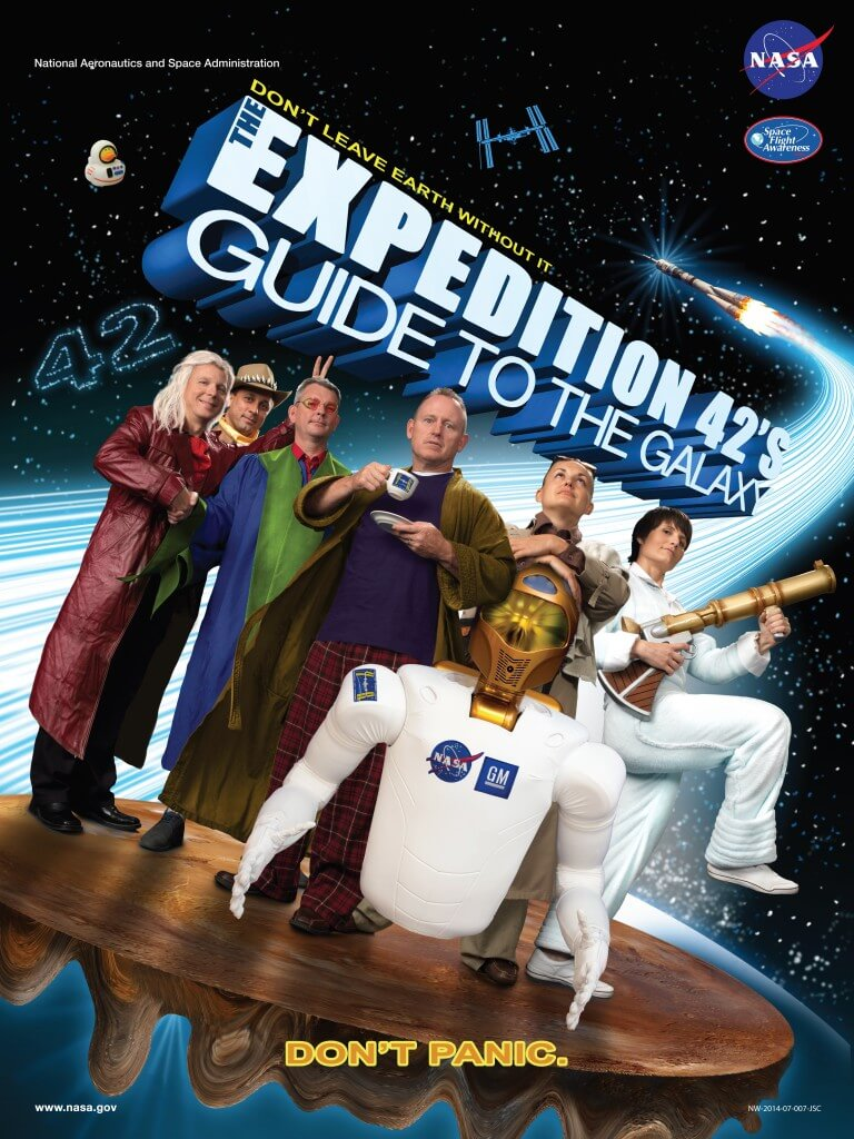 ISS Expedition Astronauts movie parody posters 8 (1)