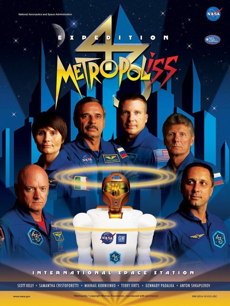 ISS Expedition Astronauts movie parody posters 9 (1)
