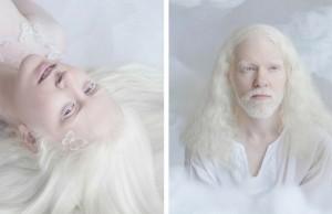 albinos portraits feat