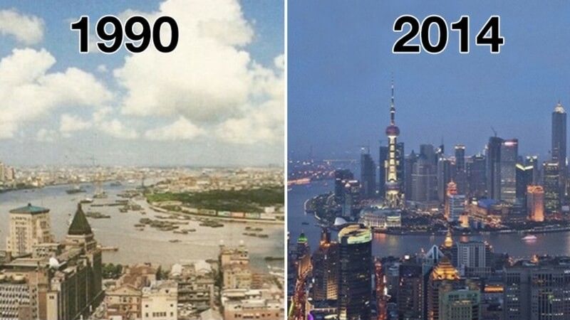 Before And After World Pictures That Show How Much Our