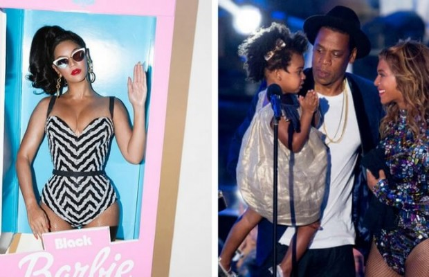Beyonce And Jay Z Barbie And Ken Halloween Costume Is What Being a Parent Is All About  sc 1 st  The Awesome Daily & Beyonce And Jay Z Barbie And Ken Halloween Costume Is What Being a ...