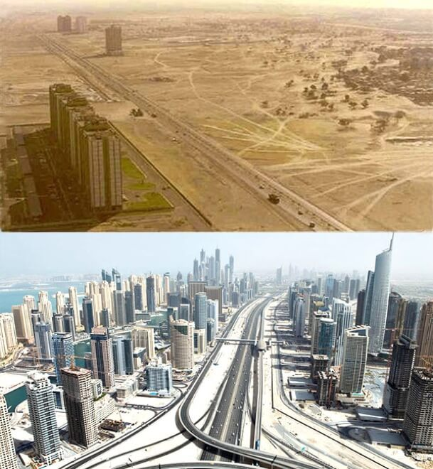 dubai before and after (1)