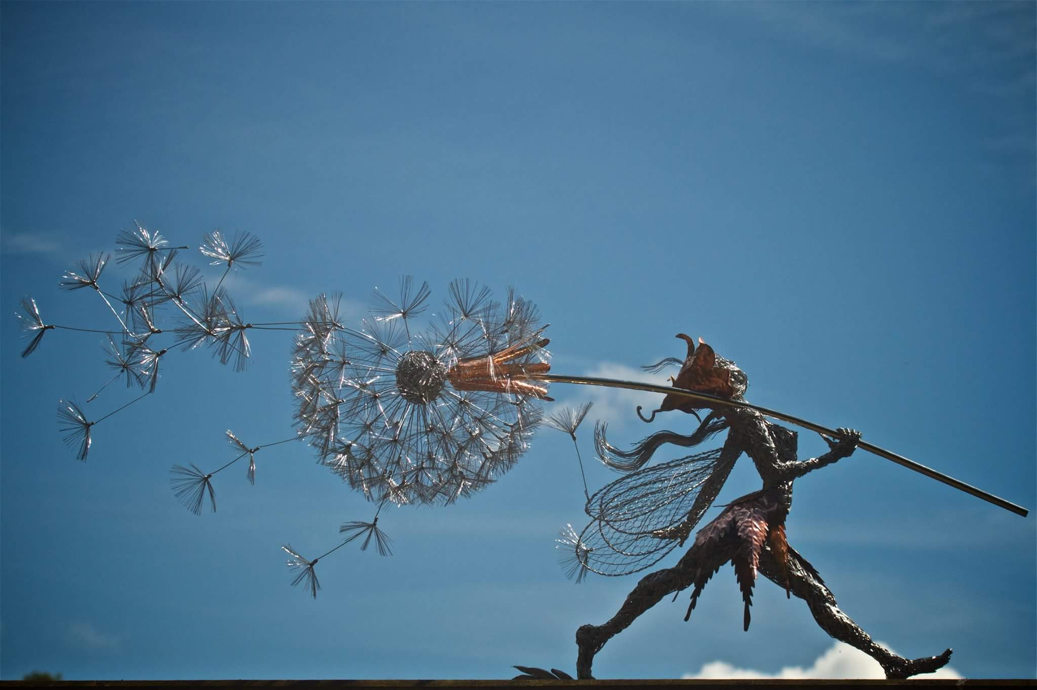 fairy wire sculptures by robin wight 16