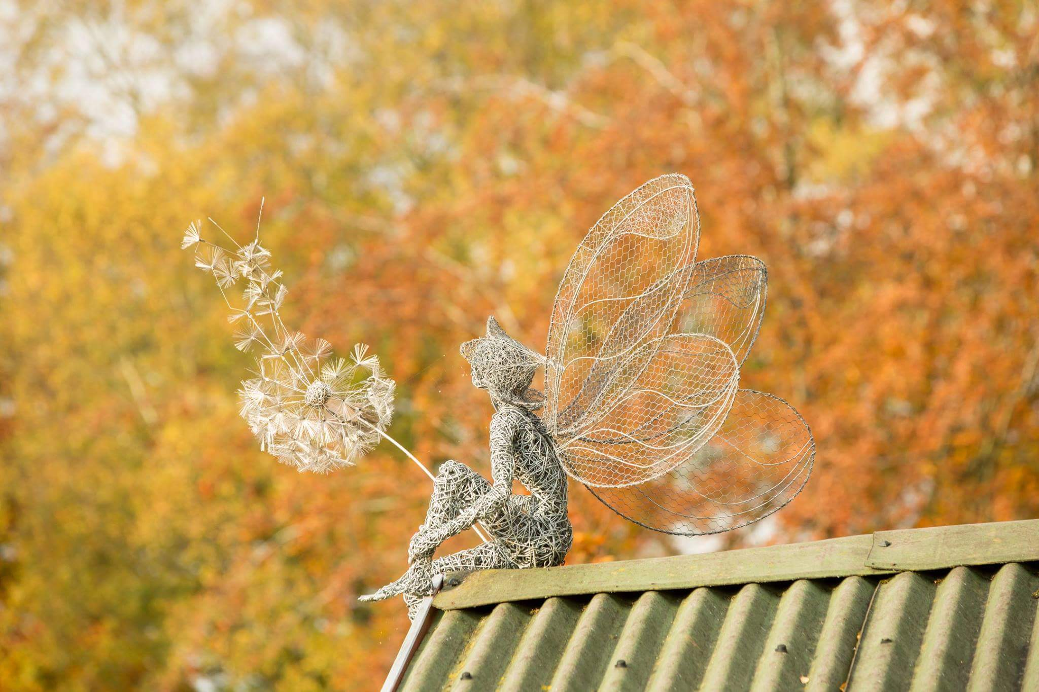fairy wire sculptures by robin wight 17