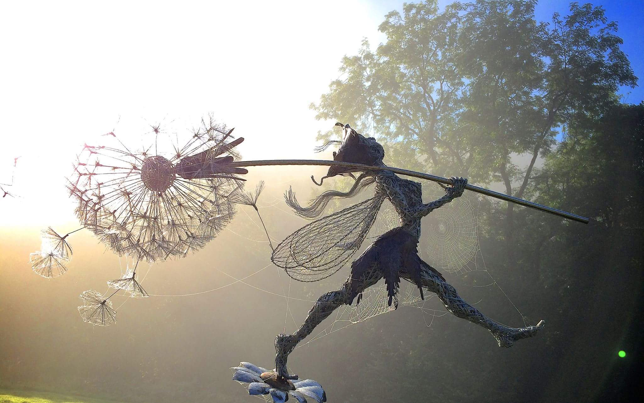 fantasy wire sculptures by robin wight 2