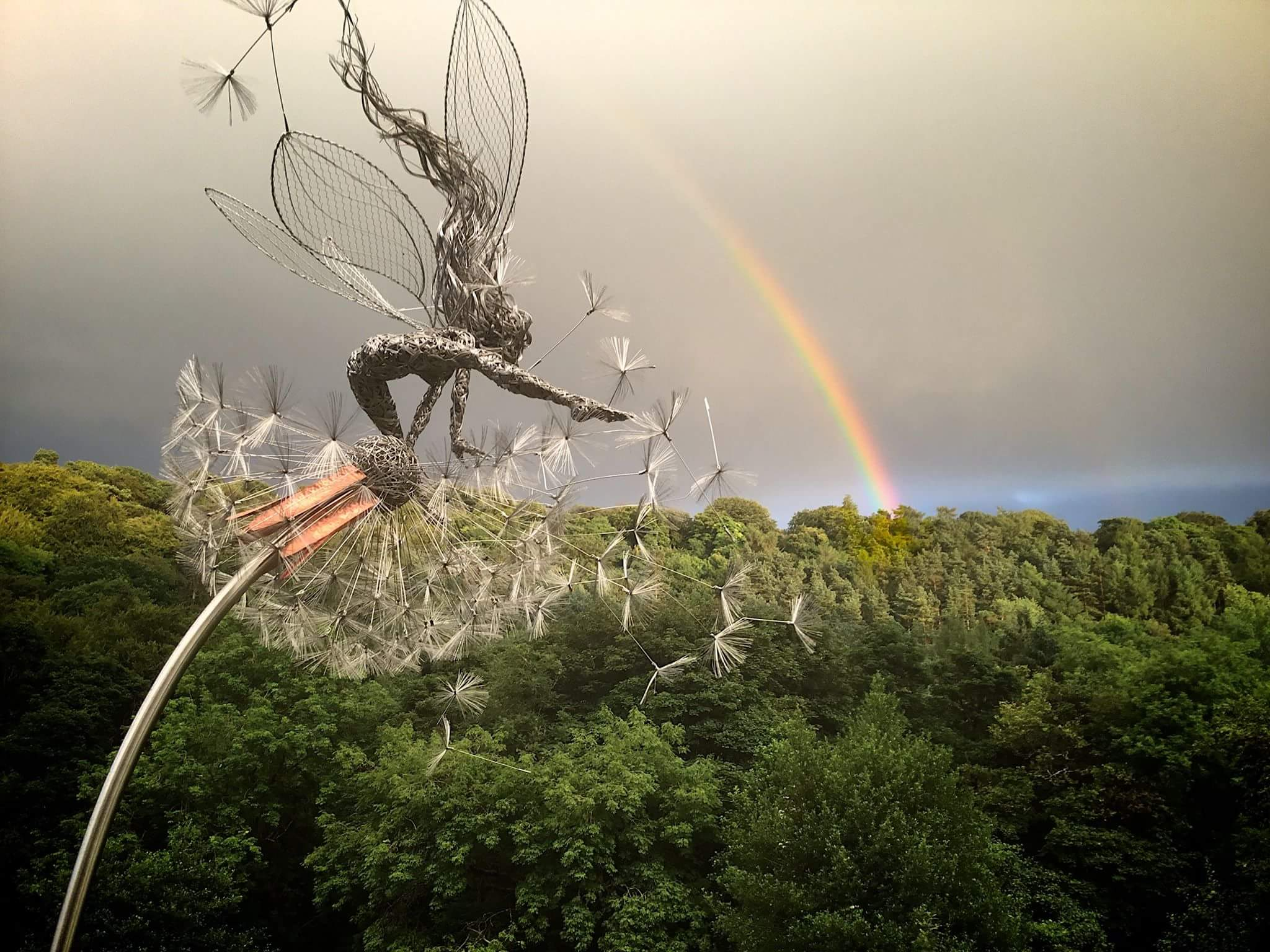 fantasy wire sculptures by robin wight 3