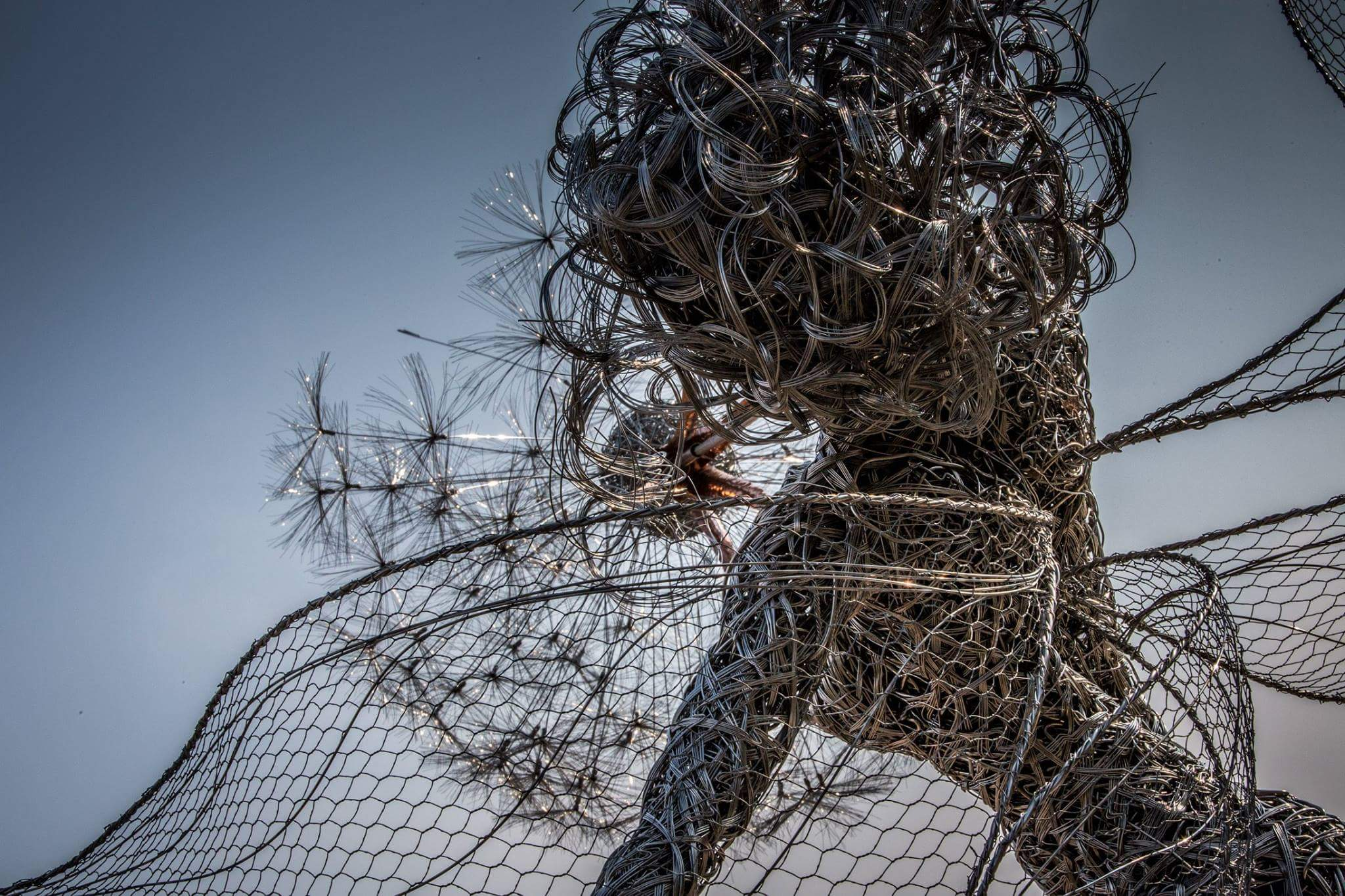 fantasy wire sculptures by robin wight 4