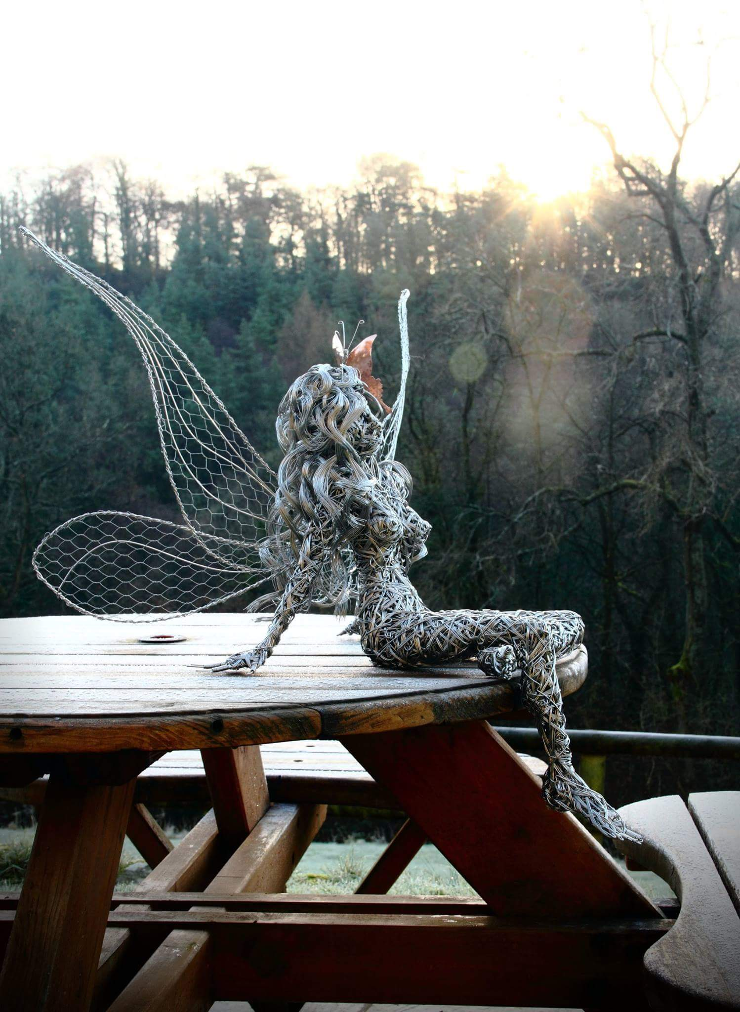 fantasy wire sculptures by robin wight 5