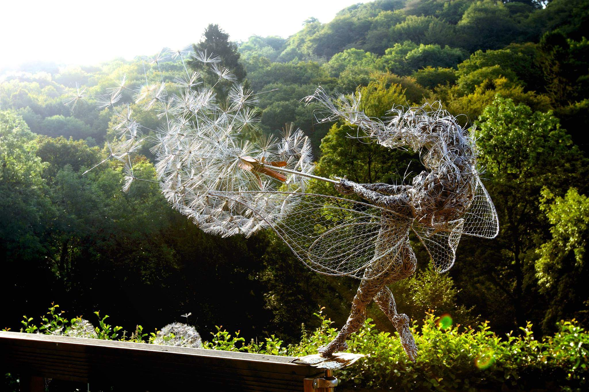 fantasy wire sculptures by robin wight 7