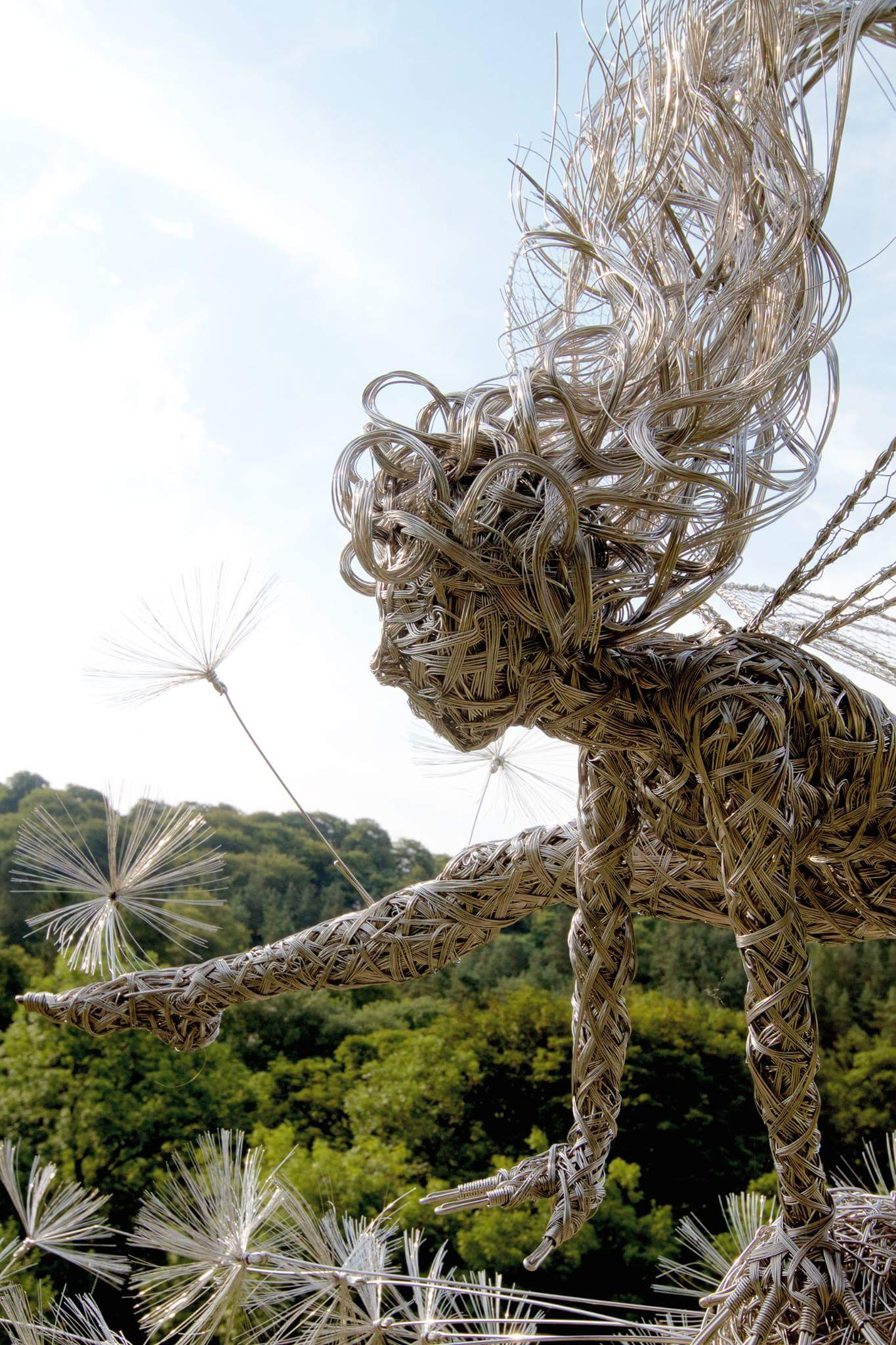 fantasy wire sculptures by robin wight 8