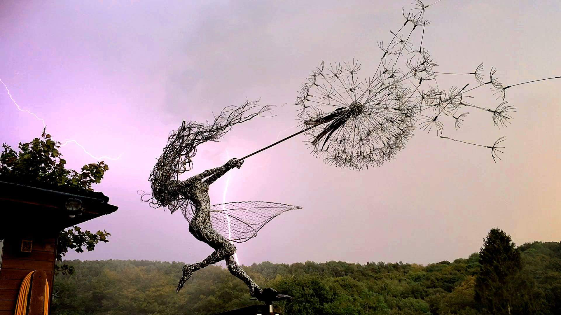 fantasy wire sculptures by robin wight 9