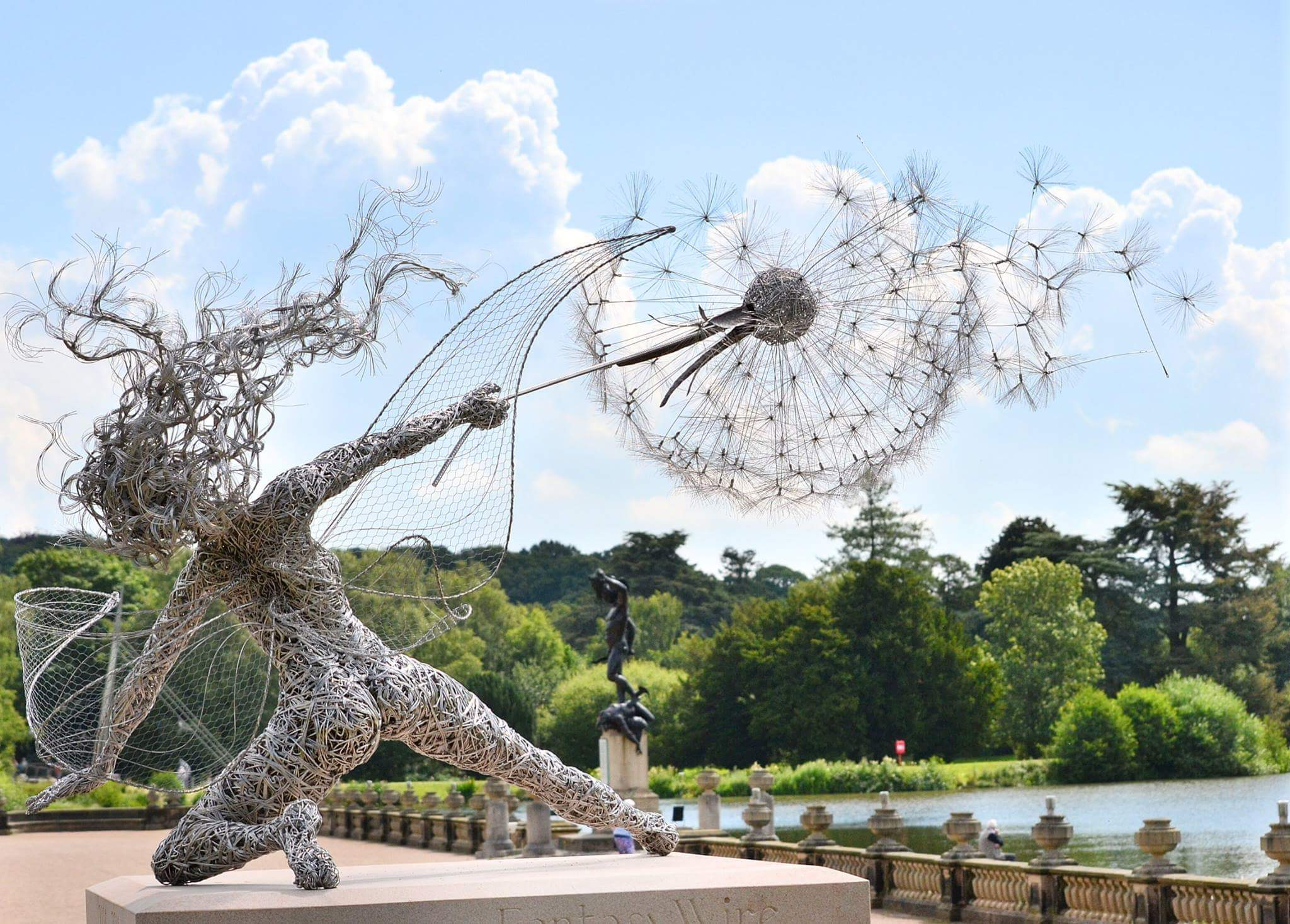 fantasy wire sculptures by robin wight