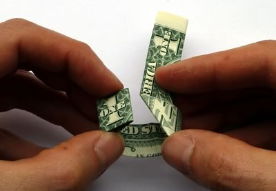 how to make a dollar bill ring 12