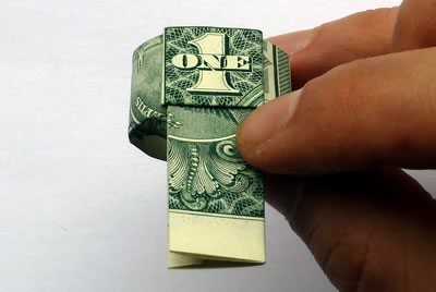 how to make a dollar bill ring 17
