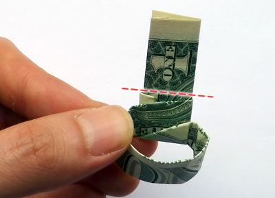 how to make a dollar bill ring 18