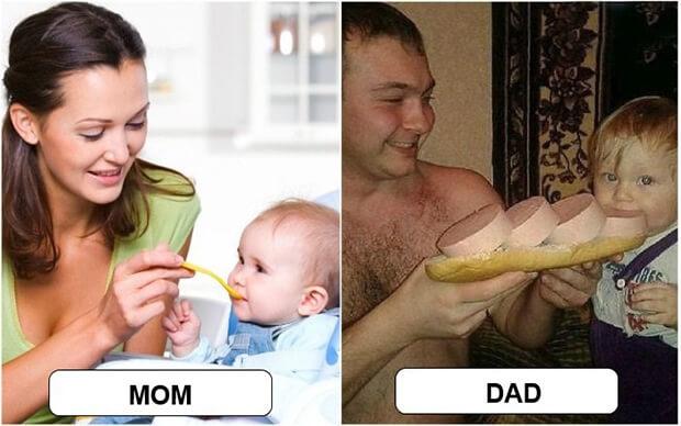 mom vs dad meme (1)