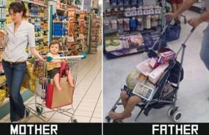 mom vs dad meme feat (1)
