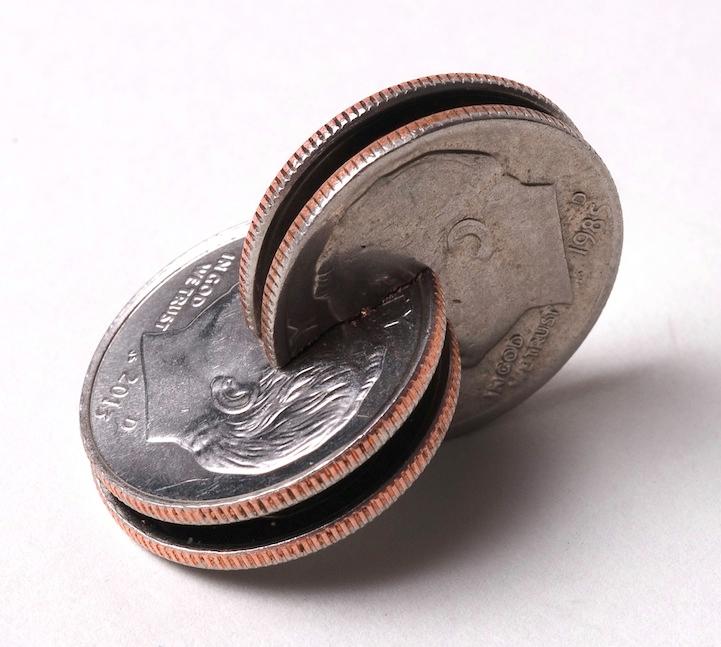 robert wechsler coin sculptures 10