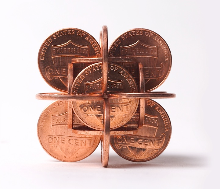 robert wechsler coin sculptures 11