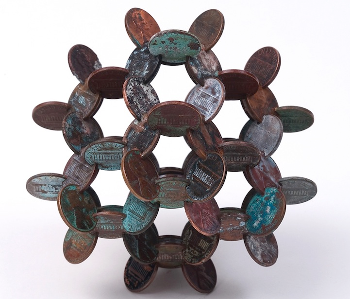 robert wechsler coin sculptures 12