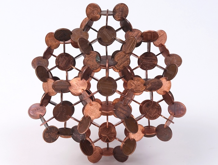 robert wechsler coin sculptures 4