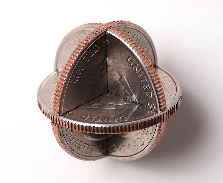 robert wechsler coin sculptures 5