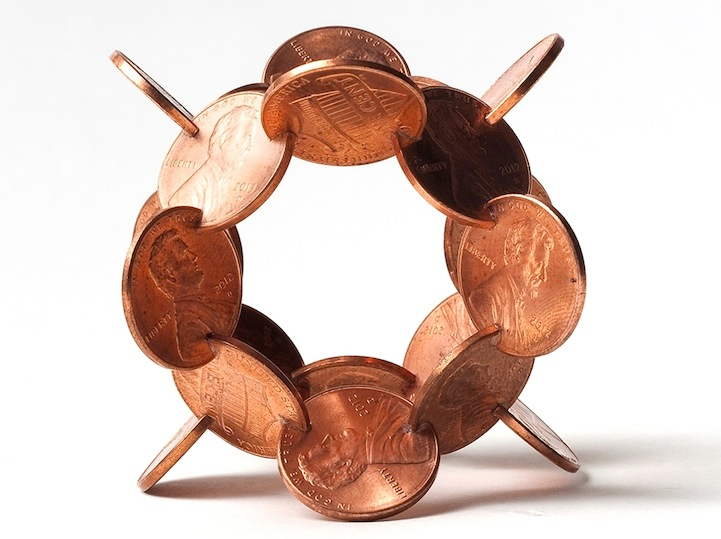 robert wechsler coin sculptures 7