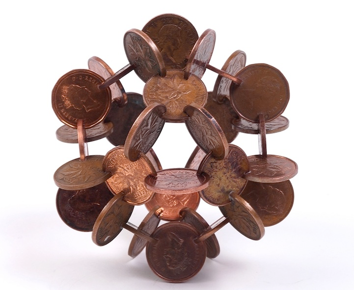 robert wechsler coin sculptures 9