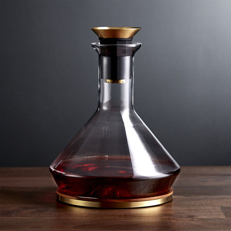 10 cool wine decanters to level up your drinking game for Wine carafes and decanters