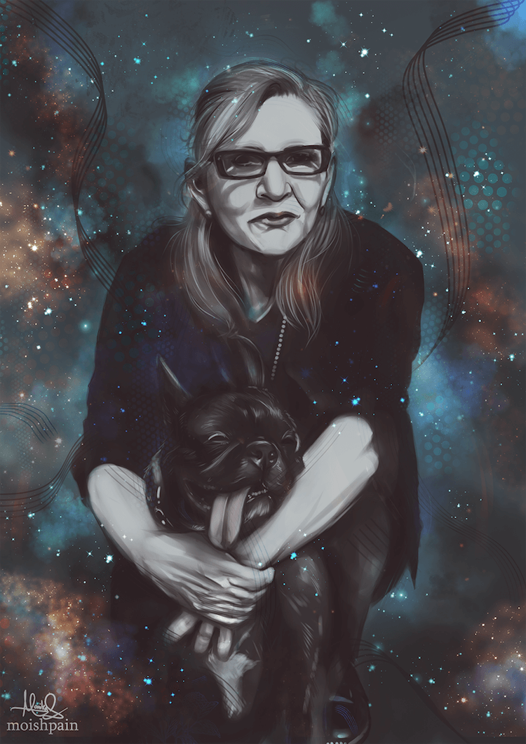 Carrie Fisher tribute 10 (1)