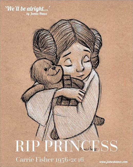 Carrie Fisher tribute 11 (1)