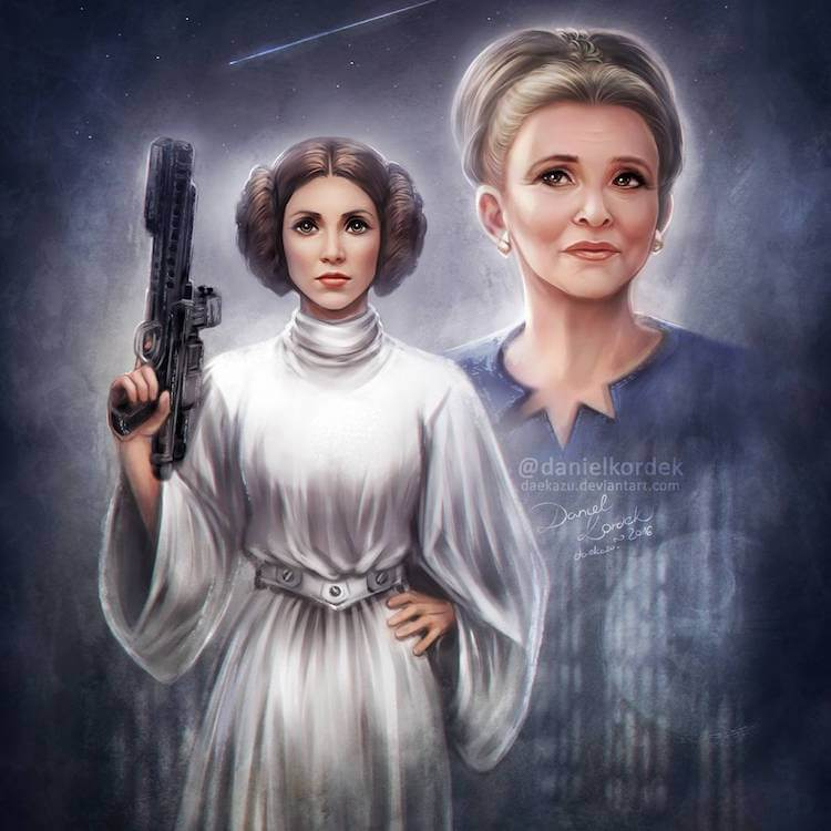 Carrie Fisher tribute 13 (1)