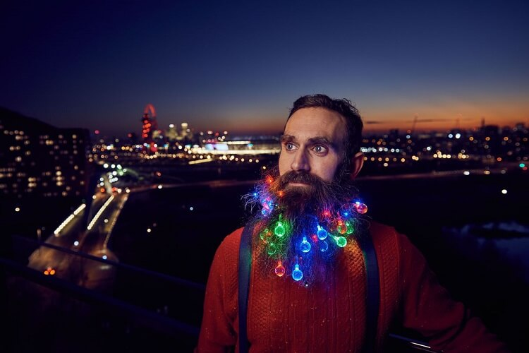 beard christmas lights (1)