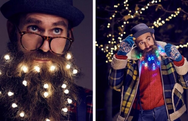 beard christmas lights feat 1 - Christmas Beard